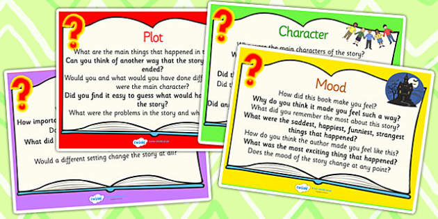 Reading Response Question Prompt Cards - reading, response, reading response, question cards, prompt cards, question prompt cards, reading cards, literacy