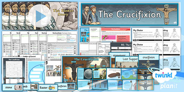 PlanIt - RE Year 6 - Free Will and Determinism-The Crucifixion Unit Pack - planit, re, religious education, year 6, free will and determinism-the crucifixion, unit pack