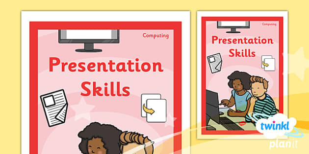 PlanIt - Computing Year 2 - Presentation Skills Unit Book Cover - planit, book cover, computing, year 2, presentation skills