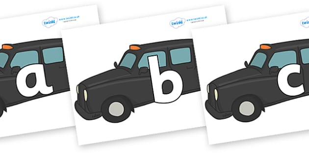 Phoneme Set on Taxis - Phoneme set, phonemes, phoneme, Letters and Sounds, DfES, display, Phase 1, Phase 2, Phase 3, Phase 5, Foundation, Literacy