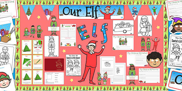 Ready Made Christmas Elf Resource Pack - ready made, christmas