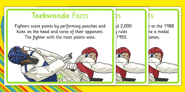 The Olympics Taekwondo Display Facts - the olympics, rio olympics, 2016 olympics, rio 2016, taekwondo, display facts