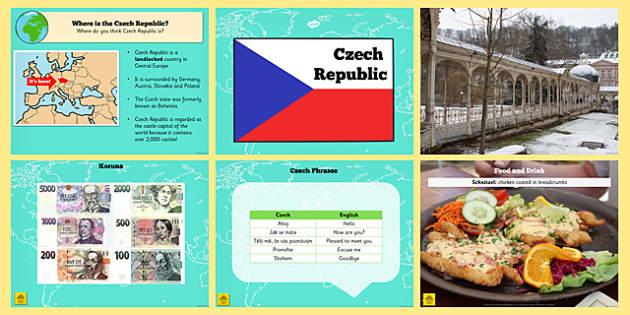 Czech Republic Information PowerPoint - czech republic, info
