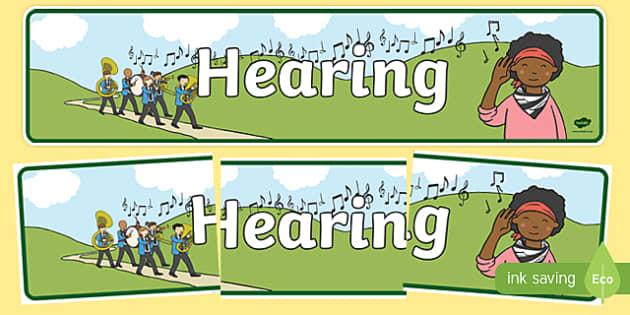 Hearing Display Banner