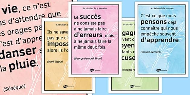 La citation de la semaine - Inspirational, Inspiration Quotes, Citations, Famous People