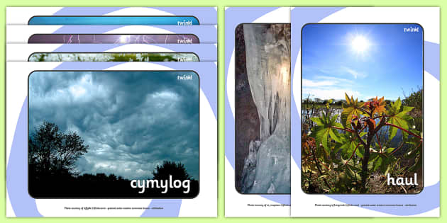Weather Display Photos Welsh Translation - weather, season, wales