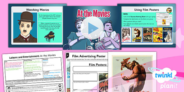 PlanIt - History UKS2 - Leisure and Entertainment Lesson 1: At the Movies Lesson Pack - planit, history