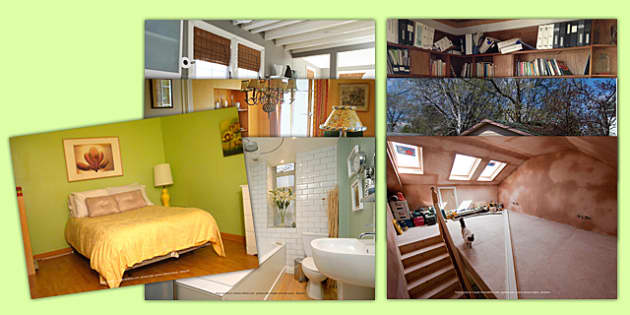 My Home Photo Clip Art Pack French - french, home, houses and homes, house, my home, photo, clip art