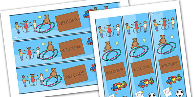 Welcome Display Banner - welcome, display banner, welcome banner, display banner, classroom banner, display header, themed banner, welcome header
