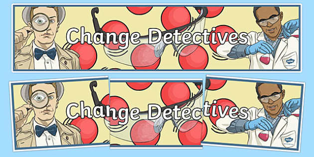 Change Detectives Display Banner - australia, Australian Curriculum, Earthquake Explorers, science, year 6, banner, wall display