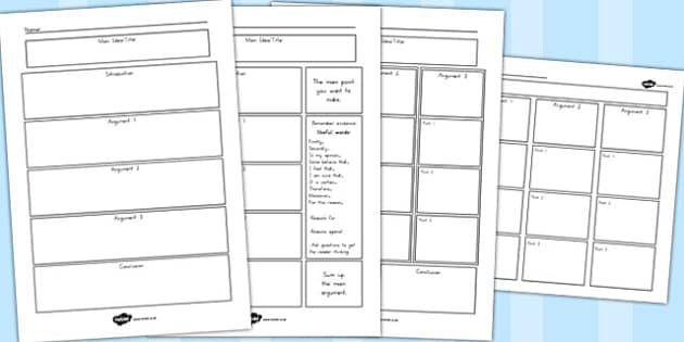 Persuasive Writing Template - australia, persuasive, writing