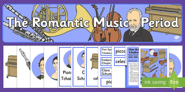 The History of Romantic Music Resource Pack - History Club, Romantic, Ideas, Support, Elderly Care, Care Homes, Activity Coordinators, Life long l