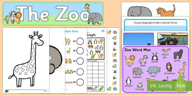 Zoo Resource Pack - zoo, animal, safari, jungle,