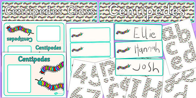 Centipedes Class Resource Pack - centipedes, class, resource, pack