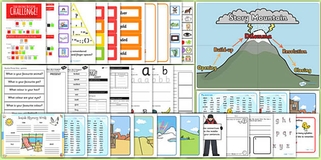 Teaching Assistant KS1 Writing Intervention Pack - TA, writing