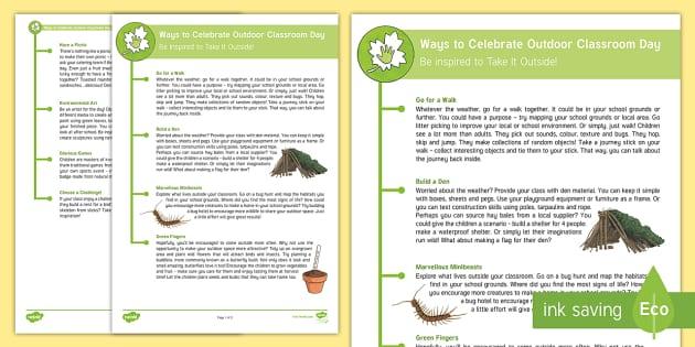 Pulleys Powerpoint Ks2 : Ks ways to celebrate empty classroom day forest school