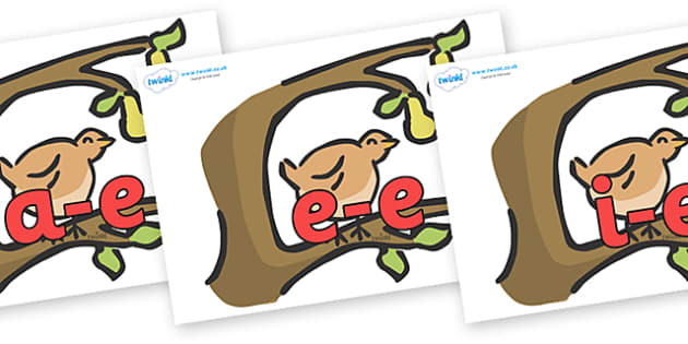 Modifying E Letters on Partridge in a Pear Tree - Modifying E, letters, modify, Phase 5, Phase five, alternative spellings for phonemes, DfES letters and Sounds