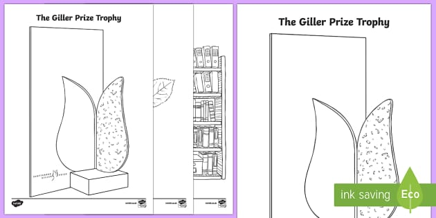 Giller Prize Colouring Pages