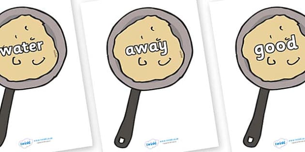 Next 200 Common Words on Pancakes - Next 200 Common Words on  - DfES Letters and Sounds, Letters and Sounds, Letters and sounds words, Common words, 200 common words
