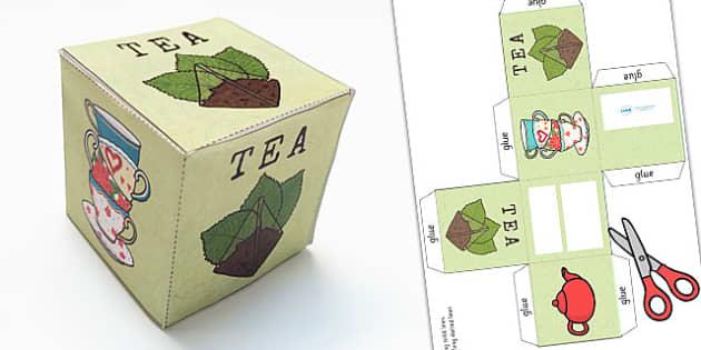 Roleplay Supermarket Tea Box Net - shops, role play, props, shop