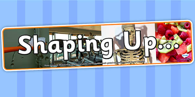 Shaping Up IPC Photo Display Banner - shaping up, IPC, banner
