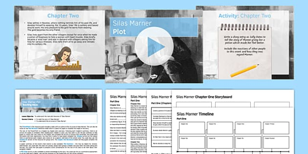 Silas Marner Plot Resource Pack - Marner, Silas, George Eliot, plot, structure, summary, chapter by chapter, timeline