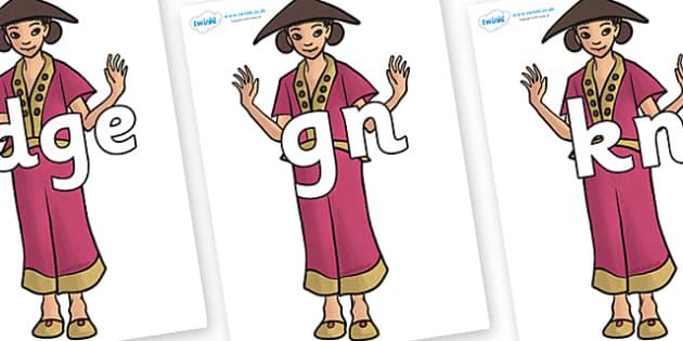 Silent Letters on Lila - Silent Letters, silent letter, letter blend, consonant, consonants, digraph, trigraph, A-Z letters, literacy, alphabet, letters, alternative sounds