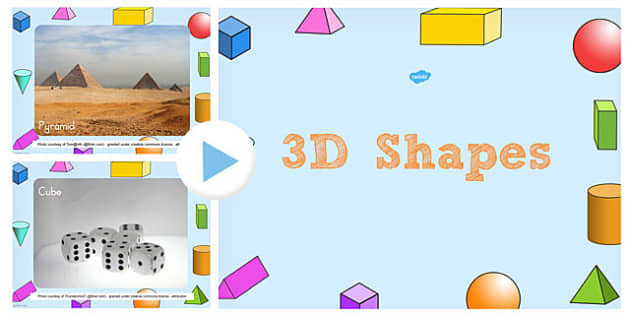 3D Shape Photo PowerPoint - 3d, shape, photo, powerpoint, objects