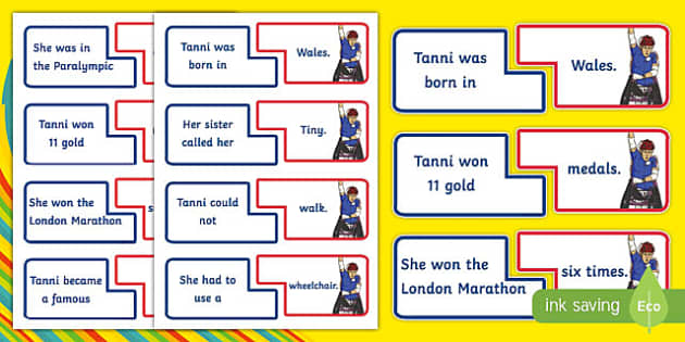 Famous Welsh Women Tanni Grey Thompson Fact Pairs - welsh, cymraeg, Tanni Grey-Thompson, Paralympian, Medals, Information, facts