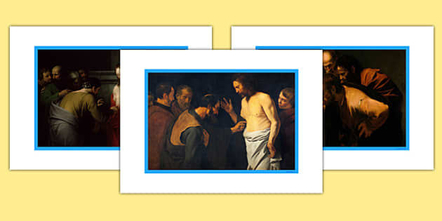 Doubting Thomas Display Photos