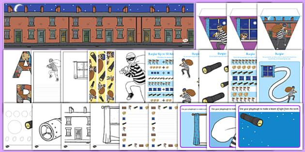 Burglar Resource Pack - burglar bill, burglar, resource pack, resource, pack