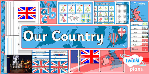 PlanIt - Geography Year 1 - Our Country Unit Additional Resources