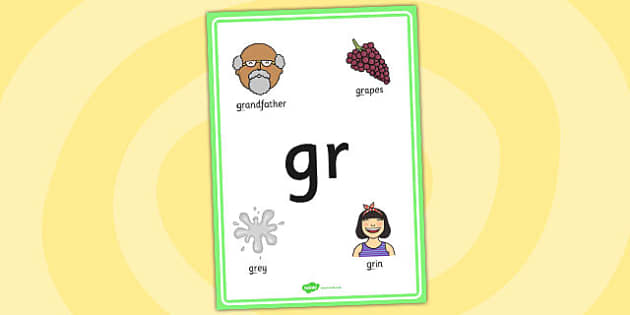 Phase 4 gr Initial Letter Blend Poster - phase four, blends