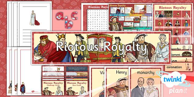 PlanIt - History LKS2 - Riotous Royalty Unit Additional Resources - planit, history, lks2, riotous royalty, additional resources