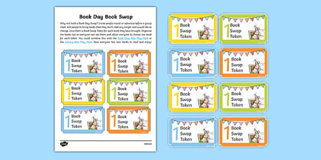 Book Day Book Swap Cut Outs-Australia