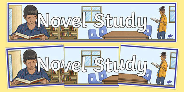 Novel Study Display Banner-Irish