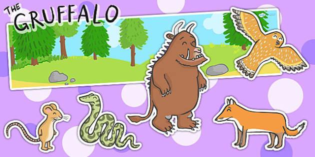 The Gruffalo Small World Pack - gruffalo, small world, role play