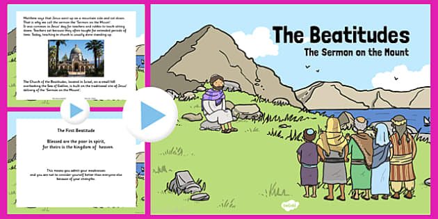 The Beatitudes PowerPoint - Beatitudes, PowerPoint, Sermon
