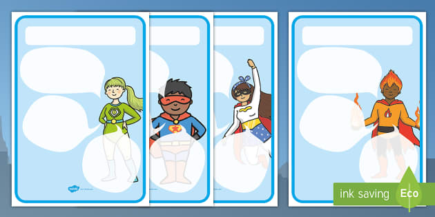 Superheroes Themed Target Posters Speech Bubbles - superheroes, superheroes themed, target posters, targets, class targets, themed targets, class management