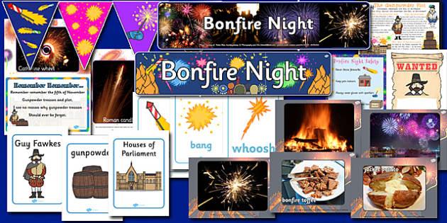 Bonfire Night Display Pack - bonfire night, display pack, display, pack