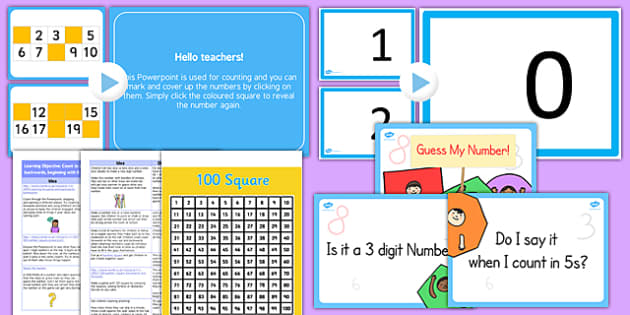 Year 1 Maths Count To and Across 100 Lesson Ideas Resource Pack