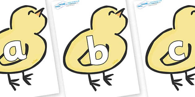Phoneme Set on Chicks - Phoneme set, phonemes, phoneme, Letters and Sounds, DfES, display, Phase 1, Phase 2, Phase 3, Phase 5, Foundation, Literacy