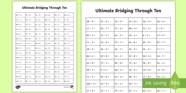 ultimate ks1 bridging through ten activity sheet home. Black Bedroom Furniture Sets. Home Design Ideas