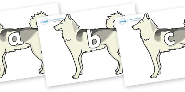 Phase 2 Phonemes on Huskies - Phonemes, phoneme, Phase 2, Phase two, Foundation, Literacy, Letters and Sounds, DfES, display