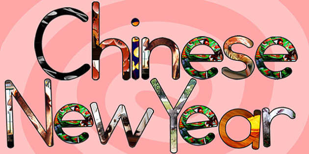 Chinese New Year Photo Display Lettering - australia, display