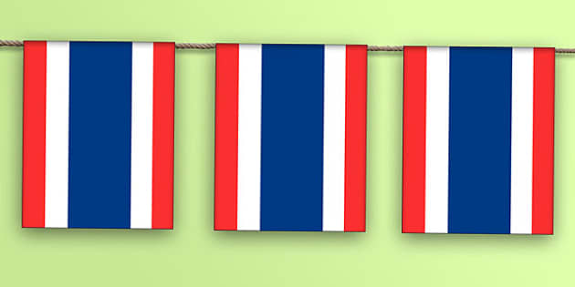 Thailand Flag Bunting - nation, international, geography, culture, display, indonesia , olympics