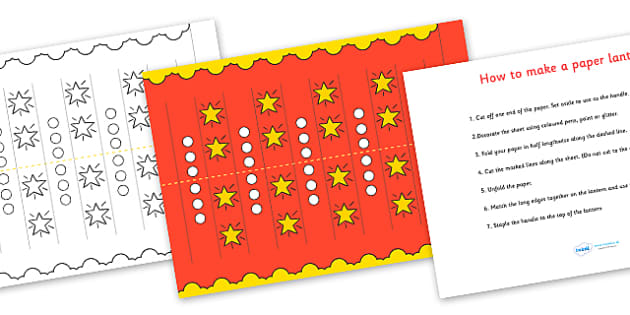 Australia Chinese New Year Make Your Own Lantern - how to make, craft, chinese new year, chinese new year lantern