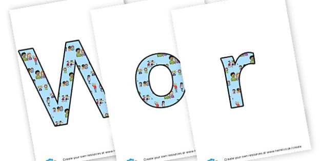 Worry Box - display lettering - My Emotions Display Primary Resources, education, home school
