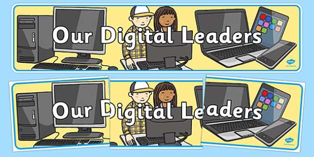 Our Digital Leaders Display Banner - our digital leaders, display banner, display, banner, digital, leader
