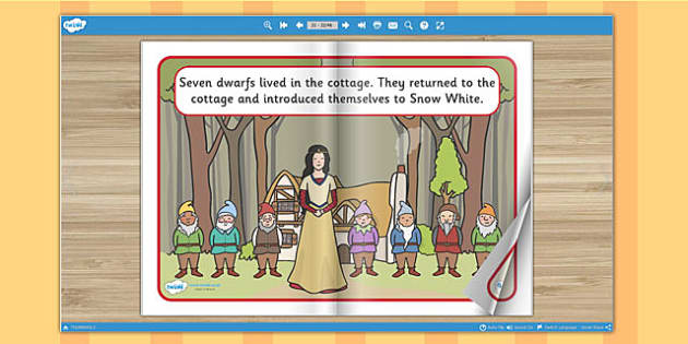 Snow White and the Seven Dwarfs eBook - traditional tales, books